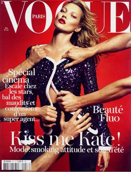 Kate Moss na okładce Vogue Paris Maj 2011