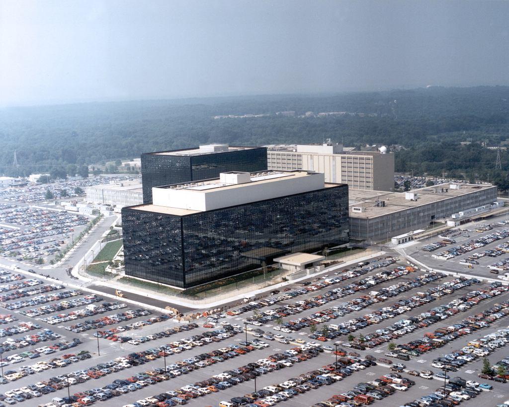 Siedziba amerykańskiej National Security Agency w Fort Meade, Maryland.