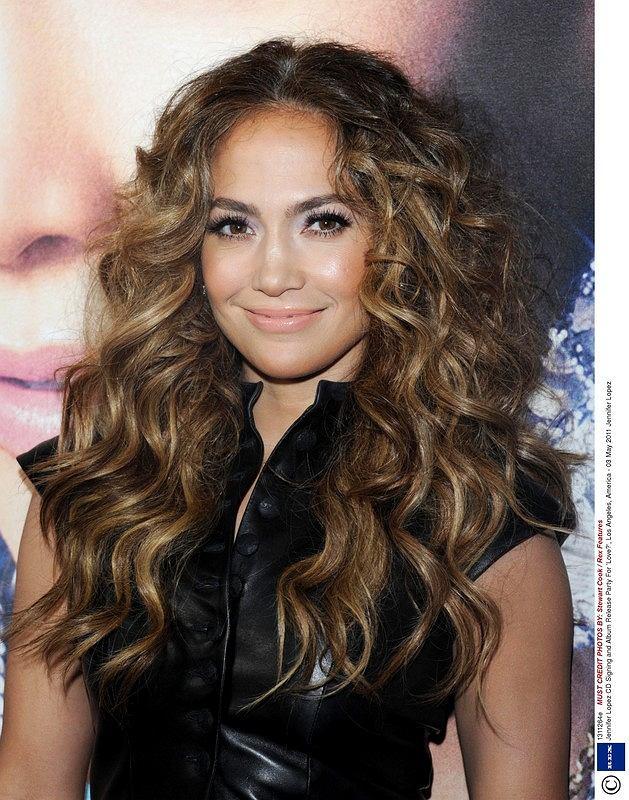 Burza loków w stylu J.Lo