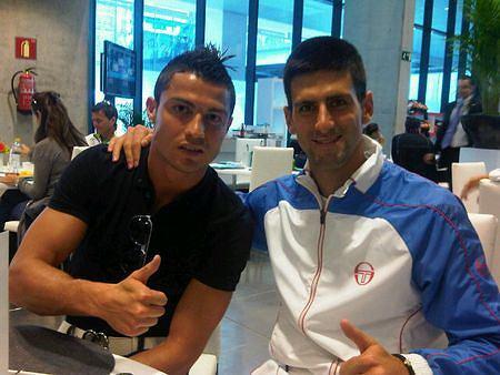 Cristiano Ronaldo i Novak Djokovic