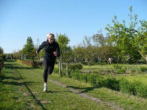 Katarzyna Bubienko, polska biega, akcja
