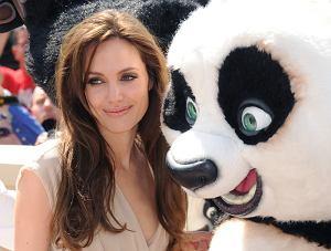 Cannes - sesja do filmu Kung Fu Panda 2 Angelina Jolie