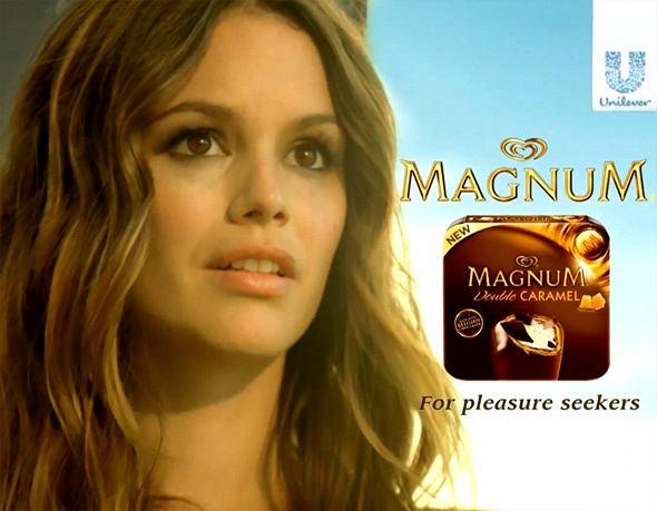 Rachel Bilson w reklamie Magnum