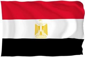 egipt, flaga,