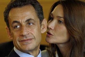 Nicholas Sarkozy i Carla Bruni