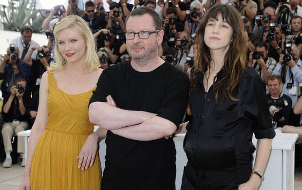 Kirsten Dunst, Lars Von Trier i Charlotte Gainsbourg