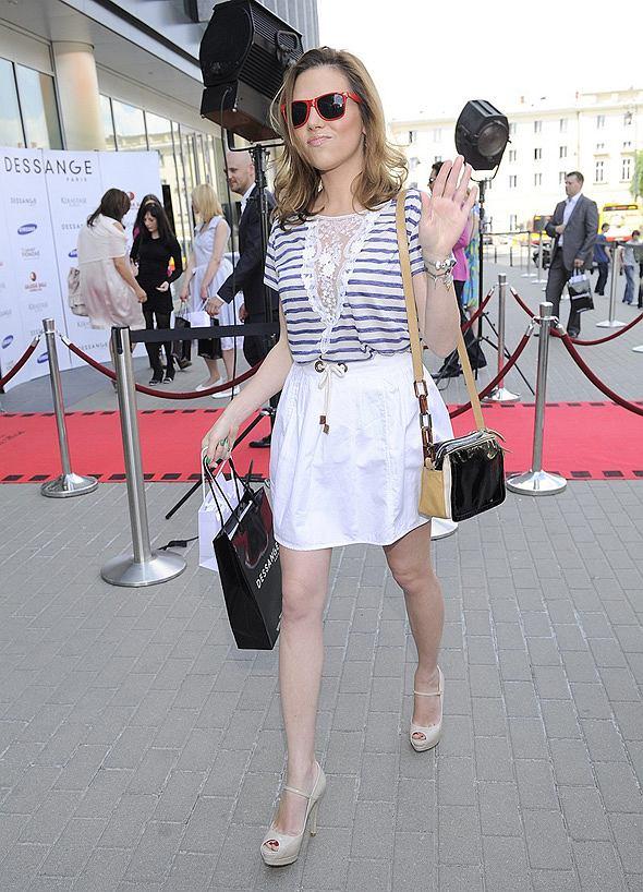 Ola Kwaśniewska na imprezie Zostań gwiazdą Cannes by Dessange