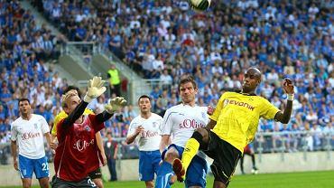 Towarzyski mecz Lech - Borussia w maju 2011 r.