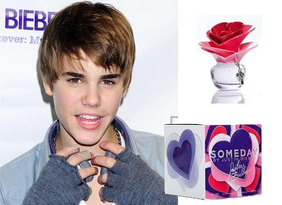 Justin Bieber i jego nowe...damskie perfumy