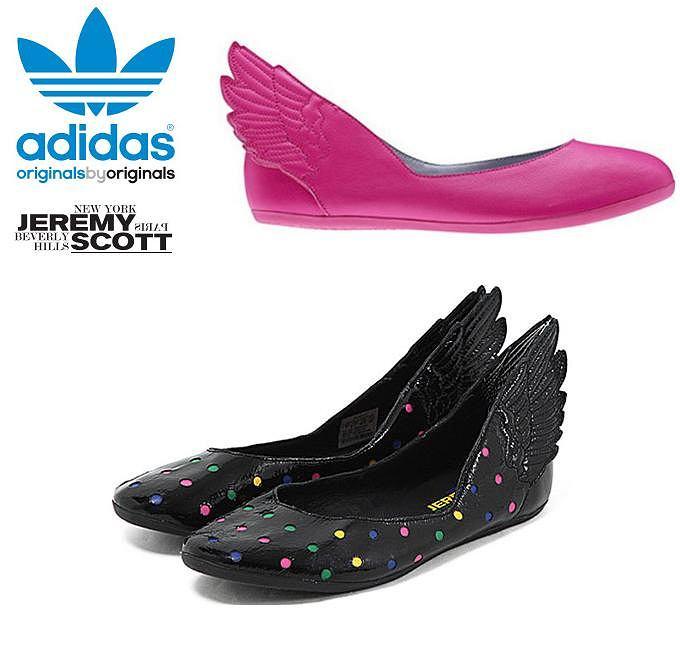 baleriny ze skrzydłami z kolekcji Jeremy Scott for adidas Originals