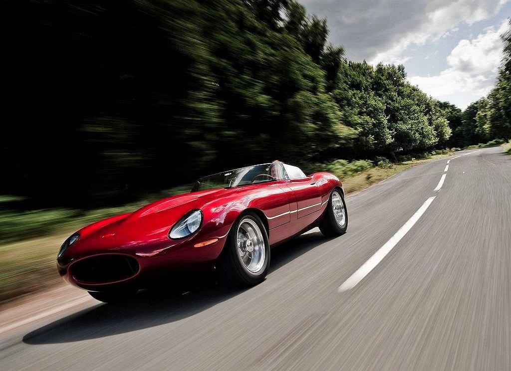 Jaguar E-Type Speedster Lightweight