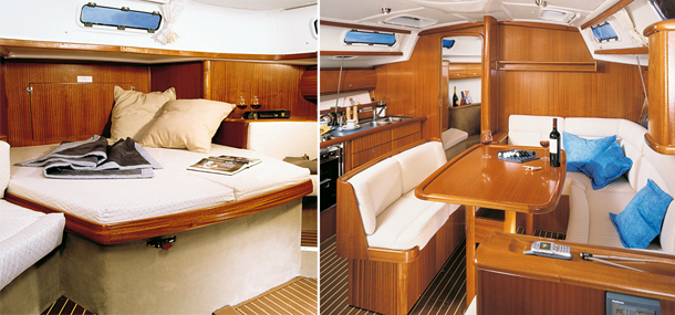 żagle,jacht, Bavaria 44