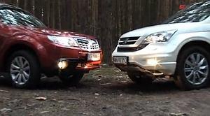 Subaru Forester VS Honda CR-V