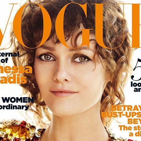 Vanessa Paradis na okładce lipcowego numeru Vogue UK