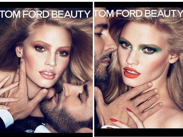 Lara Stone w kampanii Toma Forda