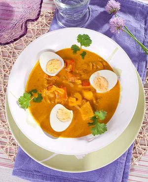 Curry z jajek