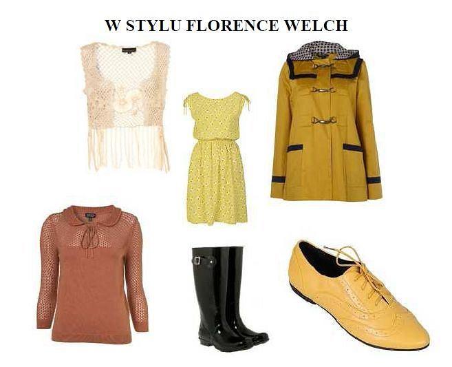 W stylu Florence Welch