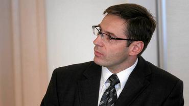 Marcin Fall, prezes hokeistów Zagłębia Sosnowiec
