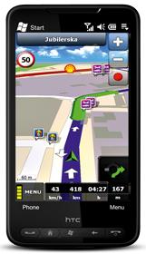 komórka, nawigacja, gps,MapaMap