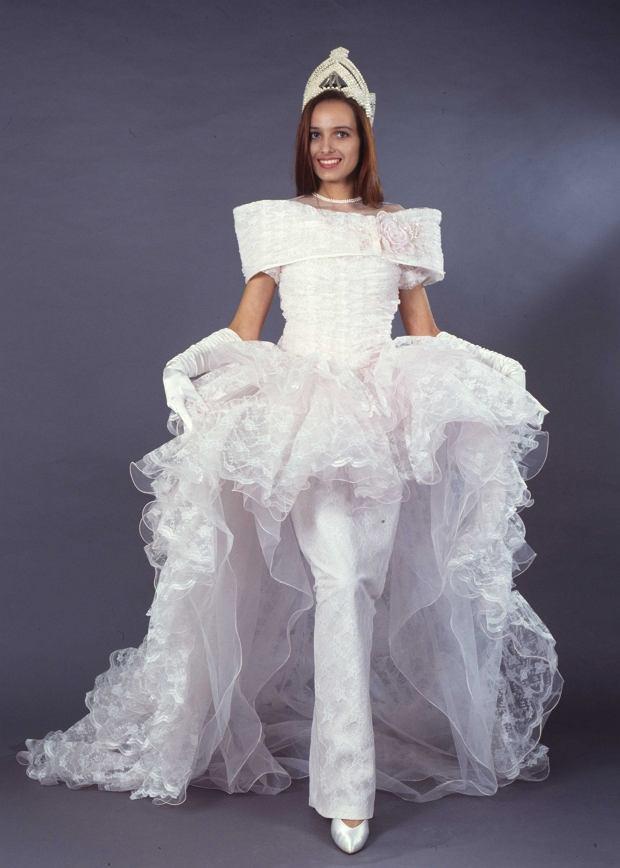 Agnieszka Kotlarska - Miss Polski 1991.