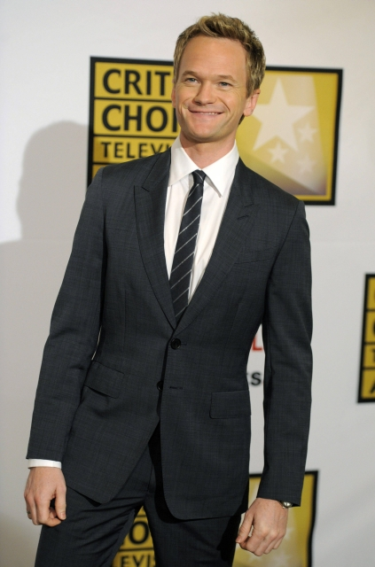 Actor Neil Patrick Harris poses at the inaugural Critics' Choice Television Awards, Monday, June 20, 2011, in Beverly Hills, Calif. (AP Photo/Chris Pizzello)
