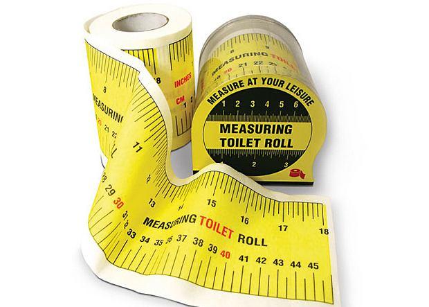 papier toaletowy z miarką