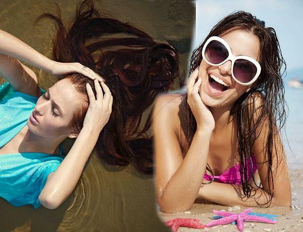 Pielęgnacja włosów latem