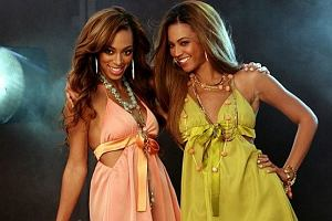 Beyoncé z siostrą