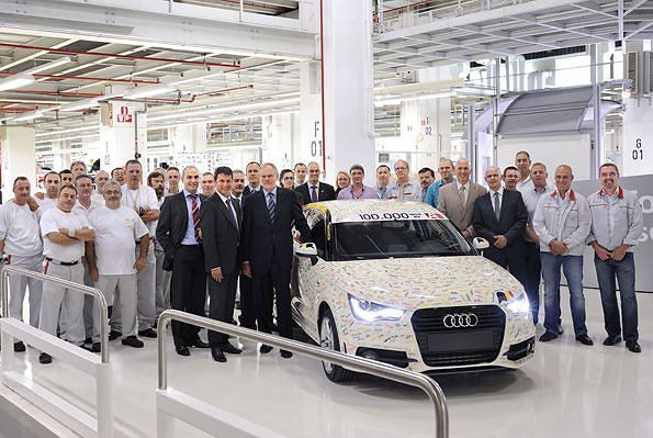 100 tys. egz. Audi A1