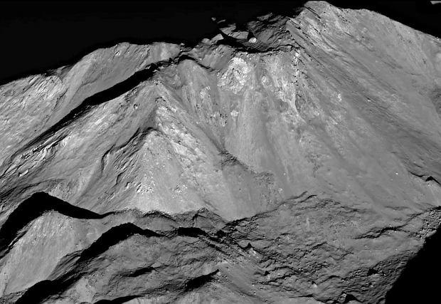 Zdjęcie zrobione przez sondę Lunar Reconaiisance Orbiter.
