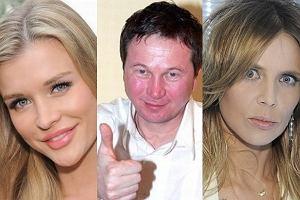 Joanna Krupa, Piotr Cyrwus, Maja Sablewska.