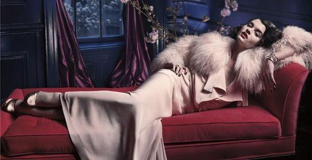Crystal Renn w Vogue Spain lipiec 2011