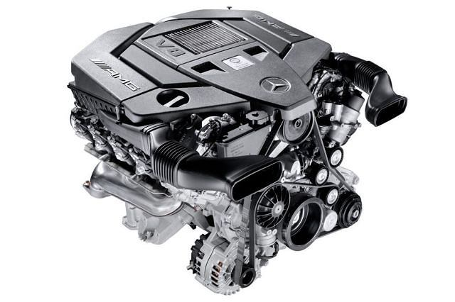 AMG M152 5.5-litre V8 engine