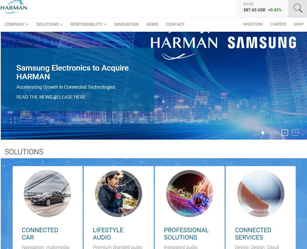 Samsung przejął Harmana