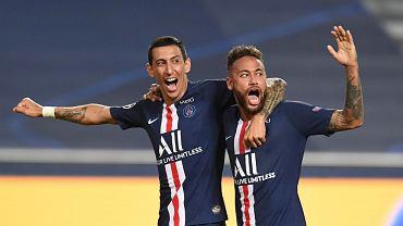 Najlepsi piłkarze półfinału Ligi Mistrzów Angel Di Maria i Neymar