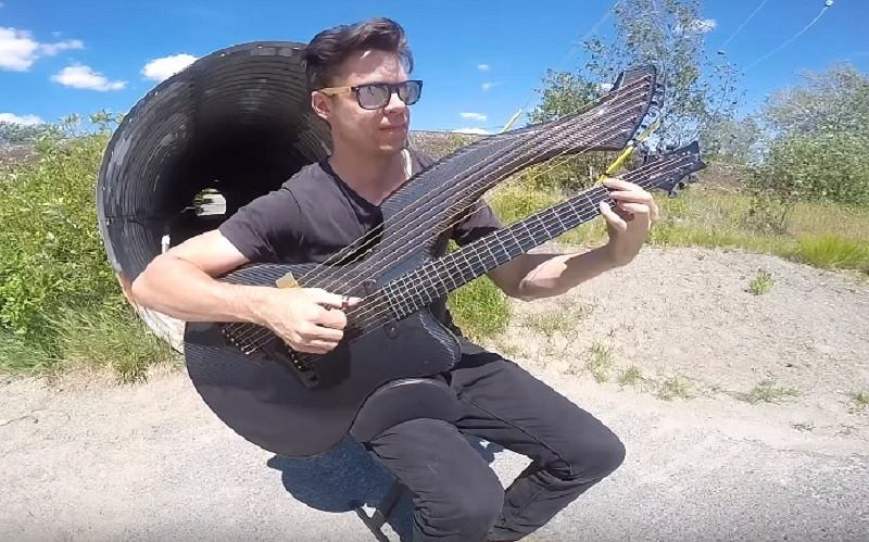 Zombie (The Cranberries) - Harp Guitar Cover - Jamie Dupuis
