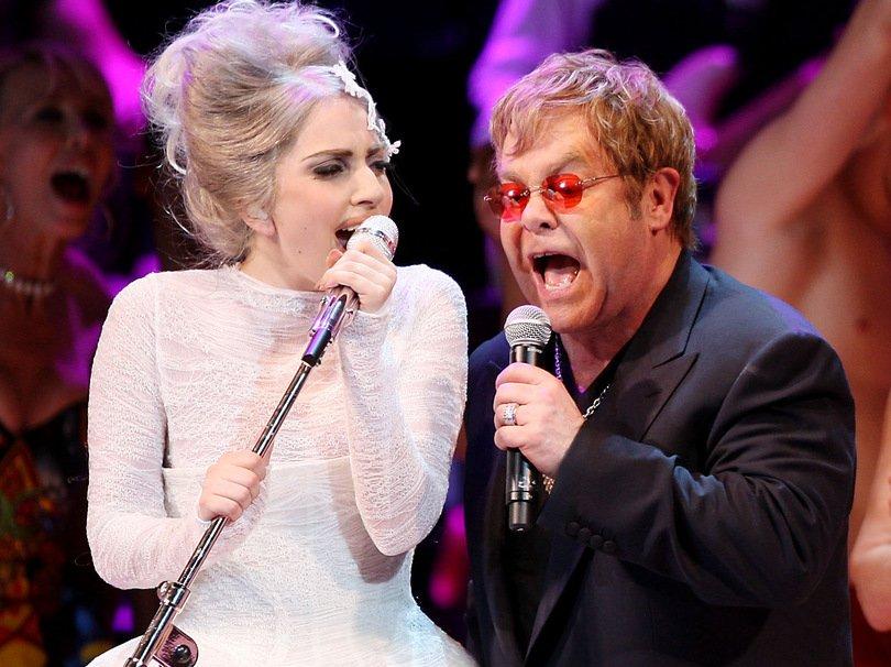 Lady Gaga i Elton John / YouTube