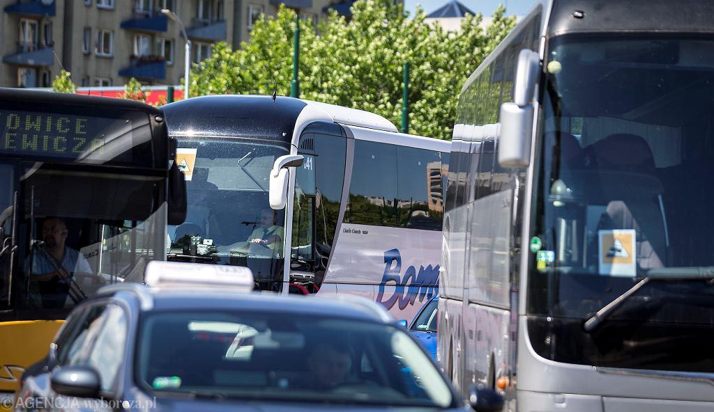 Protest autokarowców lipcu