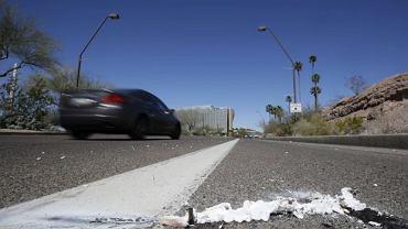Tempe - Arizona: Miejsce, w którym w niedzielę doszło do śmiertelnego wypadku z udziałem pojazdu autonomicznego Ubera