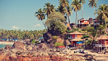 Plaża na Goa, Indie