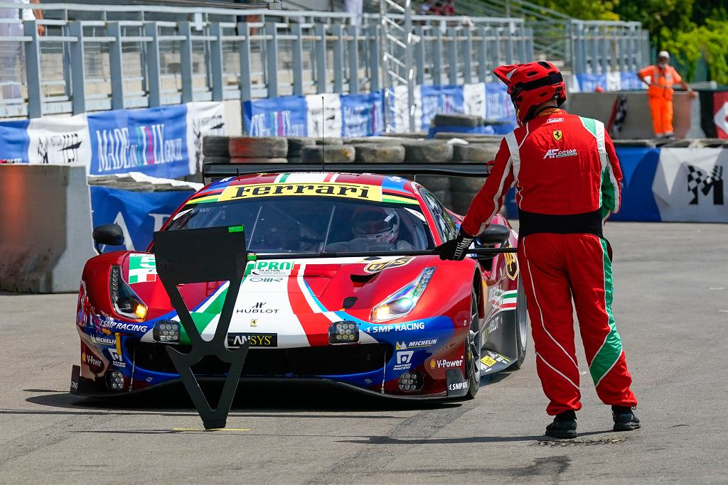 Podczas festiwalu były pokazy samochodów wyścigowych