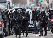 Duża operacja policyjna w Strasburgu. Odgrodzono część miasta