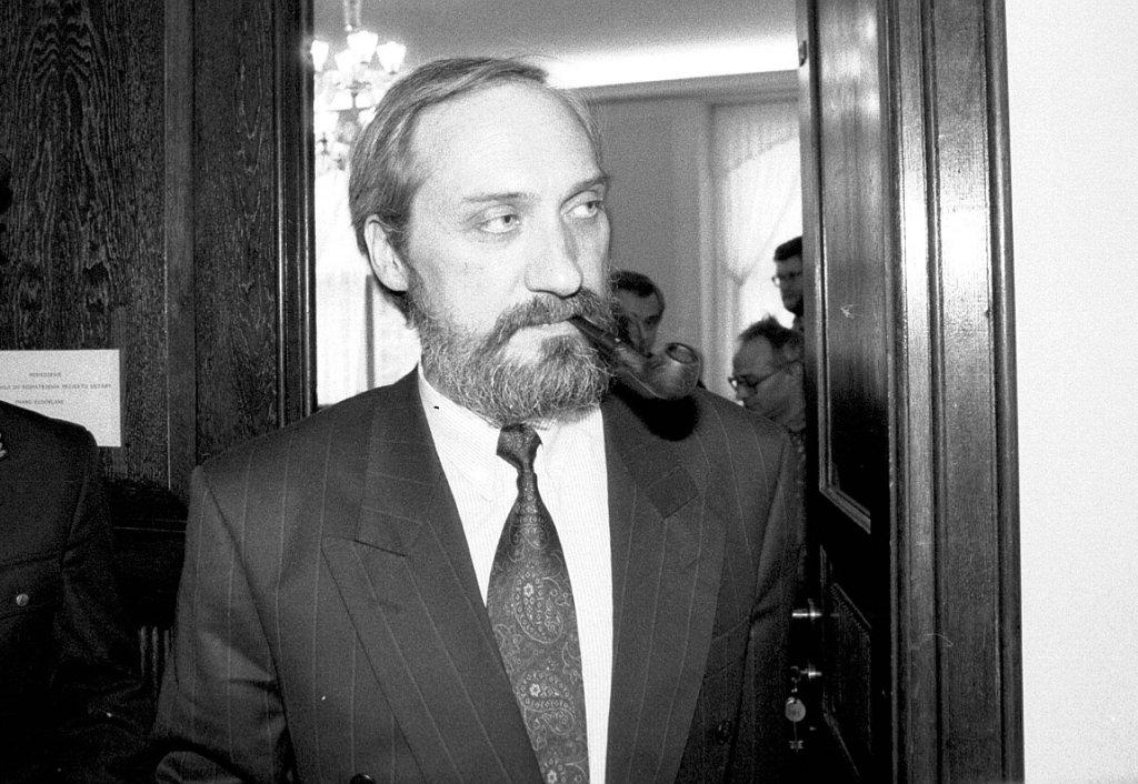Antoni Macierewicz w 1992 r. (fot. Sławomir Kamiński/AG)