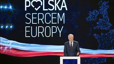 Jarosław Gowin na konwencji PiS