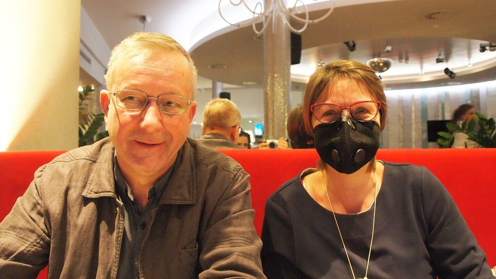Dr hab Dorota Nalepka z Państwowej Akademii Nauk oraz z prof. Adam Walanus z Akademii Górniczo-Hutniczej w Krakowie