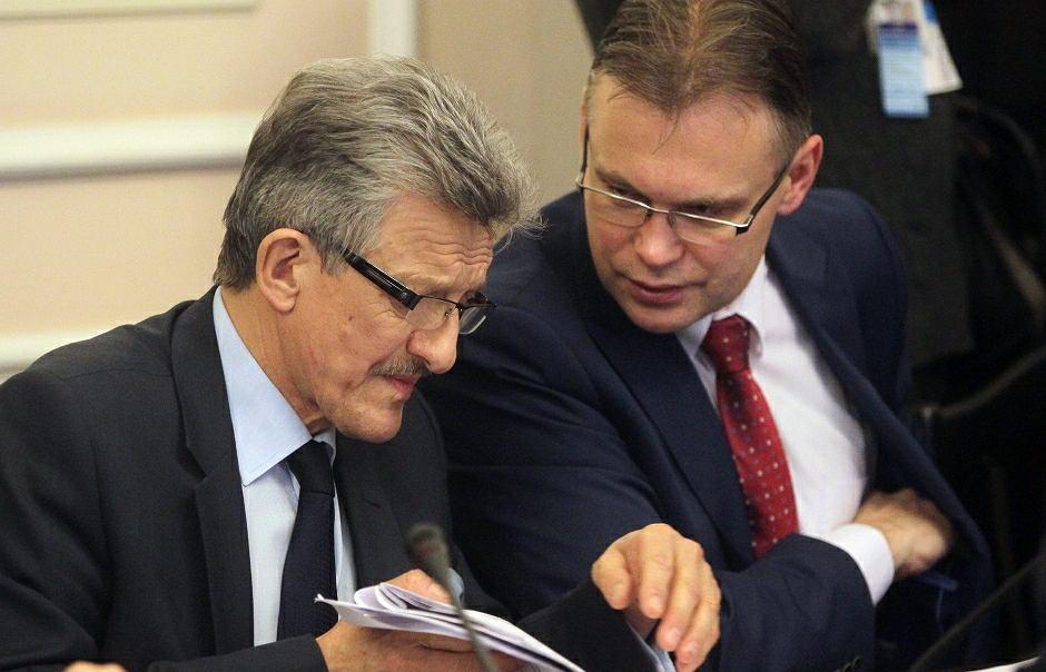 Stanisław Piotrowicz i Arkadiusz Mularczyk