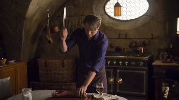 "Mads Mikkelsen jako Hannibal Lecter w serialu ""Hannibal"""