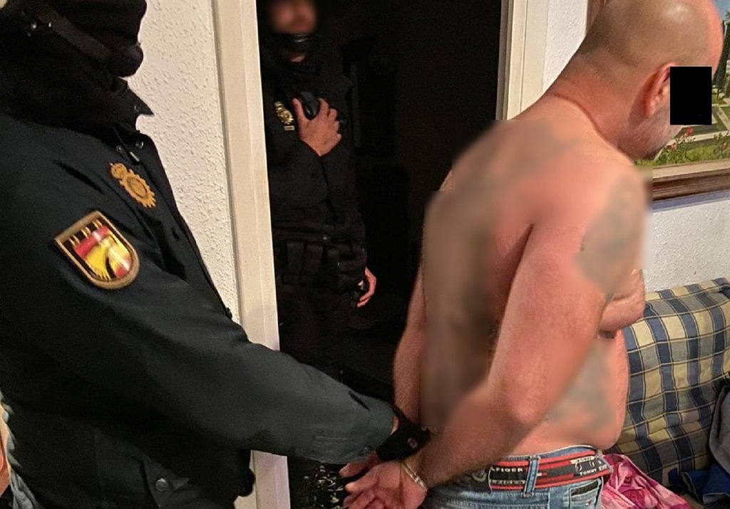 Mężczyzna zatrzymany przez policję