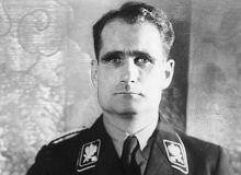 Powojenna teoria spiskowa ws. sobowtóra Rudolfa Hessa rozwiązana