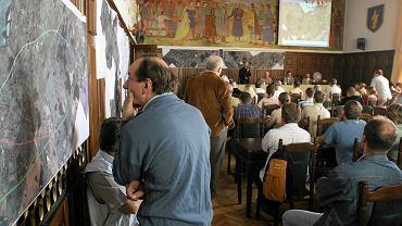 Wrzesień 2006. Pierwsza publiczna prezentacja proponowanych wariantów obwodnicy Olsztyna